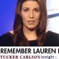"""Feminist and """"Teen Vogue"""" columnist Lauren Duca told social media followers on Oct. 6, 2017, that """"f-ing war"""" was declared when President Trump rolled back Obama-era contraceptive mandates with the Affordable Care Act. (Image: Fox News Channel screenshot via Twitter, Lauren Duca) ** FILE **"""