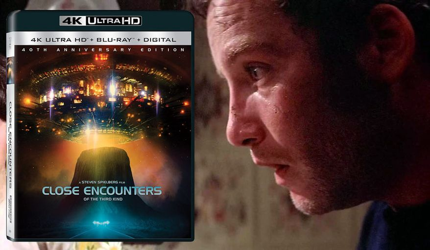 "Richard Dreyfuss co-stars in ""Close Encounters of the Third Kind: 40th Anniversary Edition,"" now available on 4K Ultra HD from Sony Pictures Home Entertainment."
