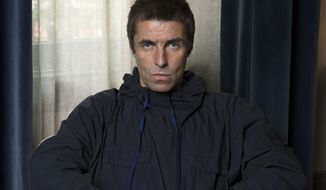 "In this July 28, 2017 photo, Liam Gallagher poses for a portrait to promote his latest album, ""As You Were,"" in New York. (Photo by Amy Sussman/Invision/AP)"