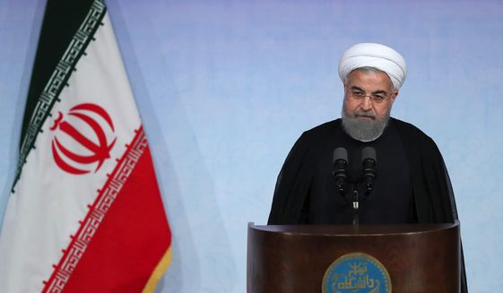 Iranian President Hassan Rouhani said over the weekend that no single move by Mr. Trump could cause a total unraveling of the deal that Iran reached with the former Obama administration, Britain, France, Germany, China and Russia. (Associated Press).