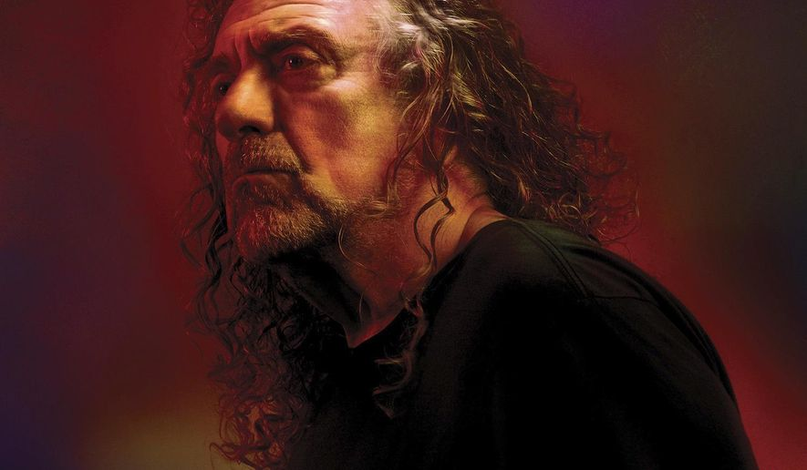 "This cover image released by Nonesuch/Warner Bros shows ""Carry Fire,"" the latest release by Robert Plant. (Nonesuch/Warner Bros via AP)"