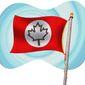 Alternate Canadian Flag Illustration by Greg Groesch/The Washington Times