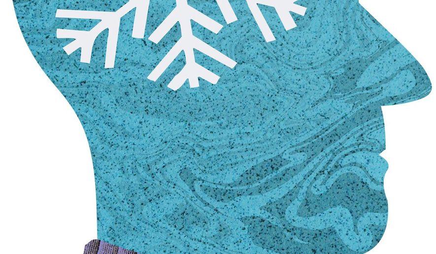 University Snowflake Illustration by Greg Groesch/The Washington Times