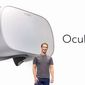 Facebook CEO Mark Zuckerberg announces plans for Oculus Go, a virtual reality headset that will be available in 2018. (Image: Facebook, Mark Zuckerberg)