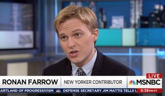 Ronan Farrow says Harvey Weinstein personally threatened to sue him before he published a bombshell piece in The New Yorker accusing the Hollywood mogul of raping three women and sexual assaulting several others.