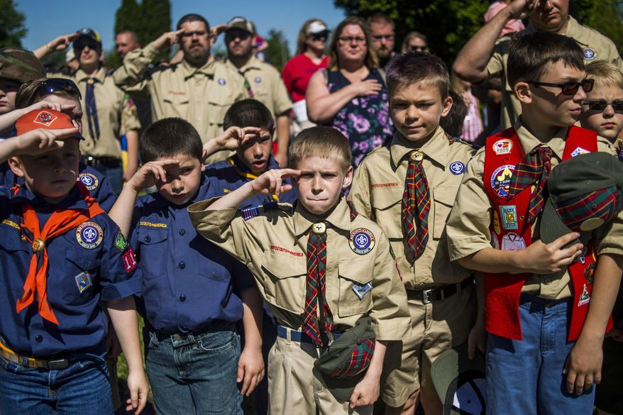 Boy Scouts of America leaders say they will start developing the next generation of female leaders and allow families to participate in outdoor activities together. (Associated Press/File)