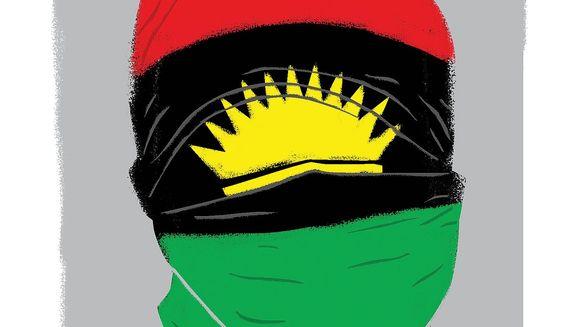 Illustration on Nigerian terrorism by Linas Garsys/The Washington Times