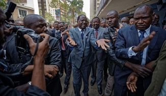 "Raila Odinga has withdrawn his candidacy for the fresh presidential election ordered by the country's Supreme Court, saying the election commission has not made the changes to avoid the ""irregularities and illegalities"" cited in the nullified August vote. (Associated Press/File)"