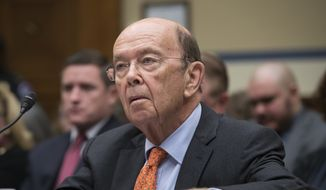 Commerce Secretary Wilbur Ross appears before the House Committee on Oversight and Government Reform to discuss preparing for the 2020 Census, on Capitol Hill in Washington, Thursday, Oct. 12, 2017. (AP Photo/J. Scott Applewhite)
