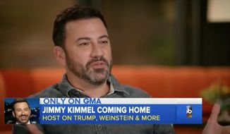 "Late-night talk show host and frequent President Trump critic Jimmy Kimmel had a few choice words for the the president's oldest son Friday, calling Donald Trump Jr. an ""imbecile"" who does little more than tweeting. (Good Morning America)"