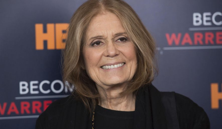 """In this Jan. 19, 2017 file photo, Gloria Steinem attends the world premiere screening of HBO's """"Becoming Warren Buffett"""" in New York. (Associated Press)"""
