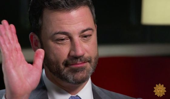 "Jimmy Kimmel doesn't appear too shaken up that his Republican viewership has taken a plunge since he waded into politics on his late-night ABC talk show. Appearing on ""CBS Sunday Morning,"" the comedian said he wouldn't change a thing about his approach to President Trump or heated topics like healthcare and gun control. (CBS)"