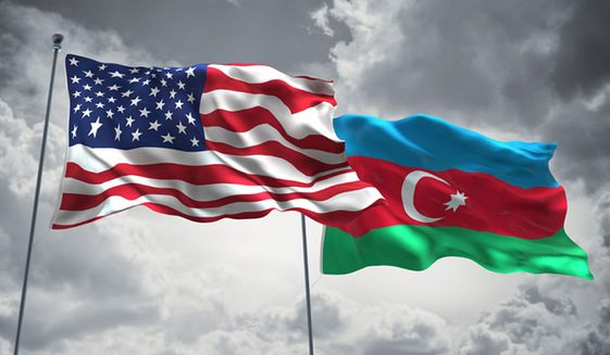 American and Azerbaijan flags (Sponsored promotion)