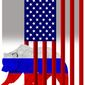 "Illustration on the failure to ""contain"" Russia by Alexander Hunter/The Washington Times"
