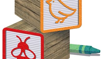 Teaching the Birds and Bees at School Illustration by Greg Groesch/The Washington Times