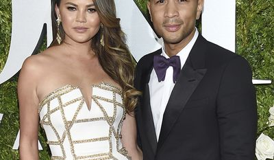"""Singer John Legend revealed that his relationship with model Chrissy Teigen was almost over after a particularly stressful day. """"I was really stressed and busy,"""" Legend said. """"I was just like: 'I'd just be happier single right now.'""""Teigen said no, they weren't breaking up. """"It wasn't a a typical breakup,"""" she tweeted. """"He was on tour and his voice hurt and he was being a whiny face about everything and so yeah, I was like 'no.' The couple welcomed their daughter Luna Simone Stephens in April, 2016."""