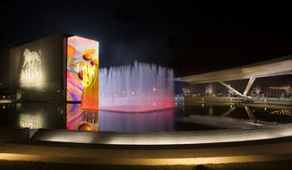 A view of the MGM National Harbor, which is located near D.C. in Prince George's County, Md. (Photo by Robb Scharteg)