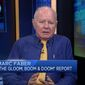 "The bearish market investor and editor of the ""Gloom, Boom & Doom Report,"" Marc Faber, came under fire Tuesday after he reportedly made racially charged remarks in his latest newsletter, thanking God that the United States was colonized by white people. (CNBC)"