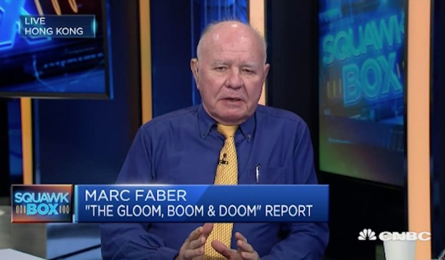 """The bearish market investor and editor of the """"Gloom, Boom & Doom Report,"""" Marc Faber, came under fire Tuesday after he reportedly made racially charged remarks in his latest newsletter, thanking God that the United States was colonized by white people. (CNBC)"""