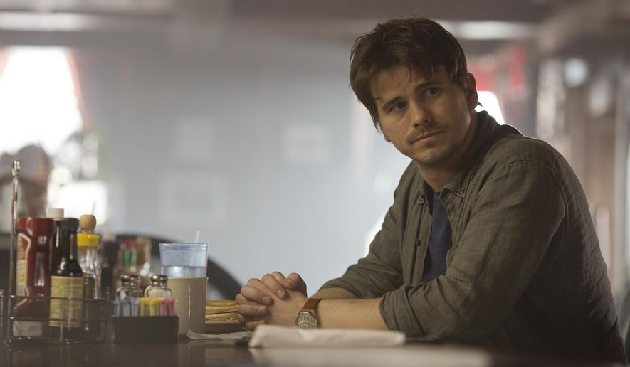 "This image released by ABC shows Jason Ritter in a scene from ""Kevin (Probably) Saves the World,"" airing Tuesdays on ABC. (Ryan Green/ABC via AP)"