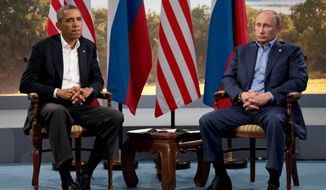 Former President Barack Obama's envoy to Russia, Michael McFaul, raised the ire of Russian President Vladimir Putin by immediately meeting with opposition politicians when Mr. McFaul first landed in Moscow in January 2012. (Associated press)