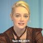 """Hollywood actress Emma Stone appears in a new Everytown for Gun Safety ad titled """"Call Congress to #RejecttheNRA."""" (Image: YouTube, Everytown for Gun Safety)"""