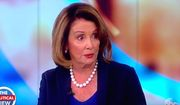 "Rep. Nancy Pelosi of California appears on ABC's ""The View"" to discuss the U.S. political landscape, Oct. 20, 2017. (Image: ABC, ""The View"" screenshot)"