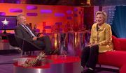 "Hillary Clinton admitted on BBC One's ""The Graham Norton Show"" that she ""really tried to get out of going"" to President Trump's inauguration. (BBC One)"