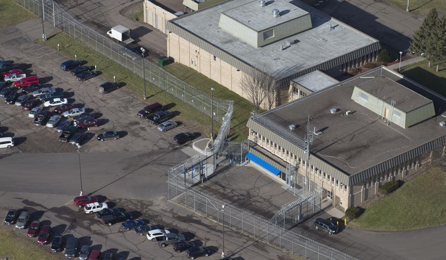 "FILE - This Dec. 10, 2015 aerial file photo, shows Lincoln Hills juvenile prison in Irma, Wis. Workers at troubled youth prisons in northern Wisconsin tell a state senator that conditions are chaotic and they are ""scared to death."" State Sen. Tom Tiffany released records Friday, Oct. 20, 2017, including emails and descriptions of telephone calls his office received from employees at the Lincoln Hills and Copper Lake juvenile prisons. They share a campus north of Wausau. (Mark Hoffman /Milwaukee Journal-Sentinel via AP, File)"