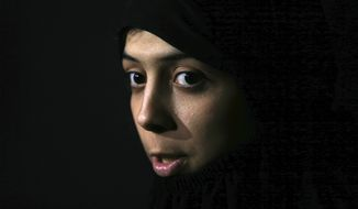 Iman Osman, a Tunisian woman who escaped from the Islamic State in Raqqa, Syria, was detained by the Kurdish anti-terrorism units. Western governments have tacitly handed down guidance to the forces uprooting the remnants of Islamic State in Raqqa and beyond on how to handle their citizens who joined the extremist group by the thousands. (Associated Press/File)