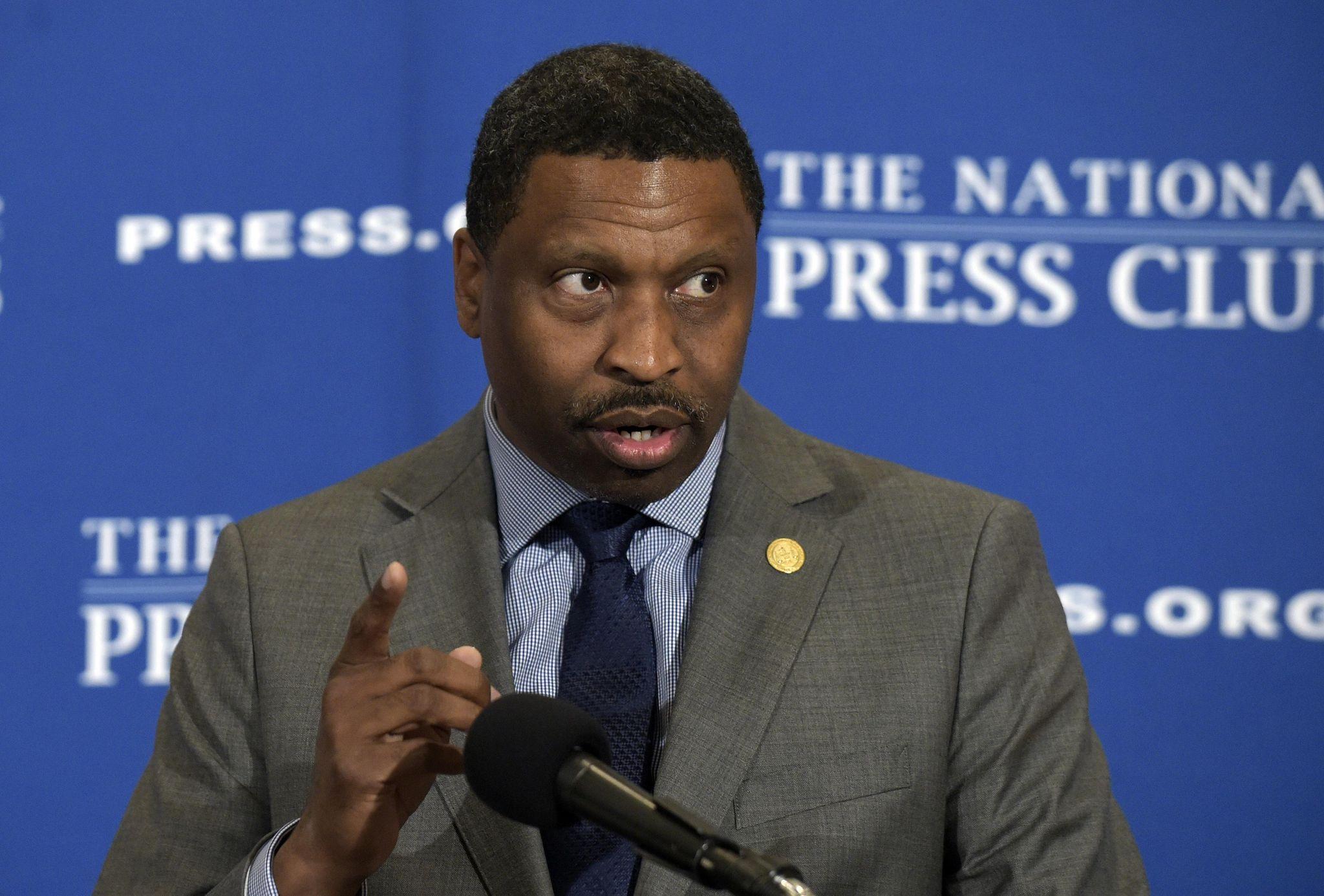 Derrick Johnson, NAACP president: Donald Trump is a racist