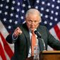 "Attorney General Jeff Sessions faces lawsuits from cities opposed to his plan to withhold public safety grants from ""sanctuary"" cities. (Associated Press/File)"