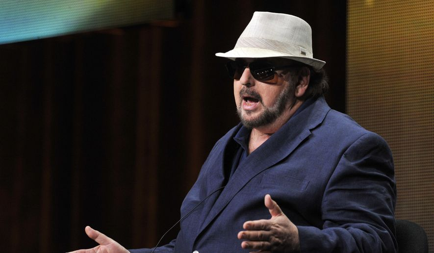 In this Thursday, July 25, 2013, file photo, James Toback takes part in a panel discussion during HBO's Summer 2013 TCA panel at the Beverly Hilton Hotel in Beverly Hills, Calif. Toback has been accused of sexual harassment by more than 30 women in a report published Sunday, Oct. 22, 2017, in The Los Angeles Times following the ongoing downfall of producer Harvey Weinstein. (Photo by Chris Pizzello/Invision/AP, File)