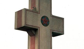 The Peace Cross in Bladensburg, Md.   The Washington Times