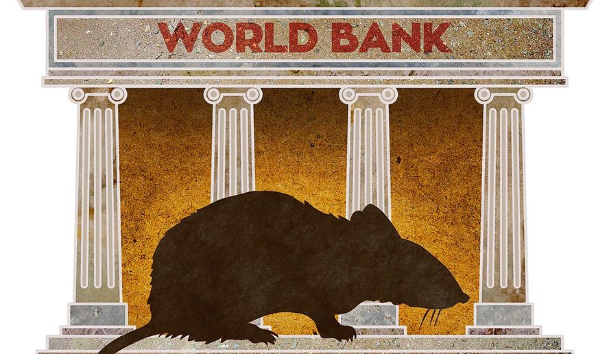 Rogue Banks Illustration by Greg Groesch/The Washington Times
