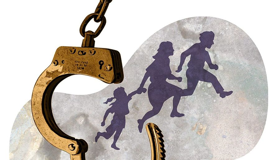 U.N. Immigration Policy Illustration by Greg Groesch/The Washington Times