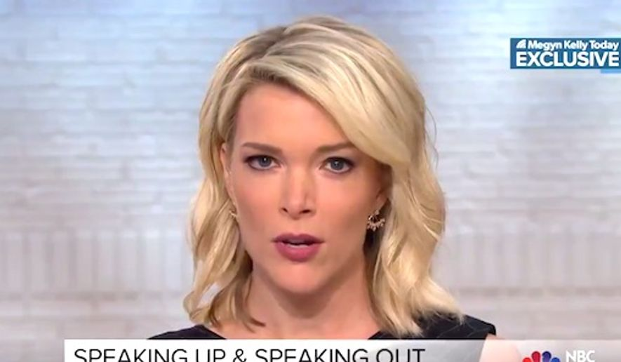 NBC'S Megyn Kelly told viewers on Oct. 23, 2017, that she complained about Bill O'Reilly's behavior in November 2016. (Image: Twitter, NBC screenshot)