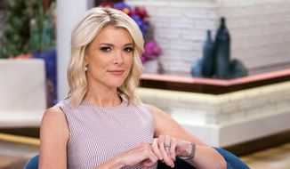 """Megyn Kelly poses on the set of her new show, """"Megyn Kelly Today"""" at NBC Studios on Thursday, Sept, 21, 2017, in New York. (Photo by Charles Sykes/Invision/AP) ** FILE **"""