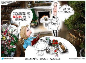 Hillary's Private Server