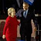 Former President Barack Obama and former Secretary of State Hillary Clinton are under congressional investigation for a 2010 uranium deal with Russia, along with Mrs. Clinton's email server. (Associated Press/File)