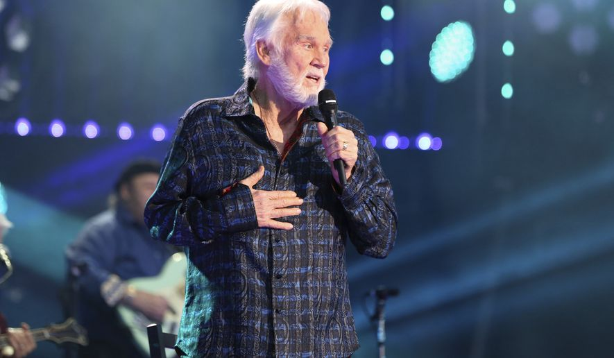 Artist Kenny Rogers performs at the 2017 CMA Music Festival at Nissan Stadium on Thursday, June 8, 2017 in Nashville, Tenn. (Photo by Laura Roberts/Invision/AP)