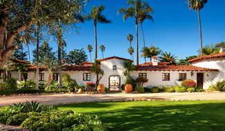 """It was once referred to as President Richard Nixon's """"Western White House."""" The Spanish Colonial Revival mansion is now up for sale, priced at $63.5 million. (Image courtesy of Sotheby's International Realty)"""