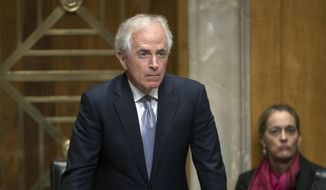 Senate Foreign Relations Committee Chairman Bob Corker, Tennessee Republican, has announced plans to hold a series of hearings, which could generate headlines that damage the public's view of President Trump. (Associated Press/File)
