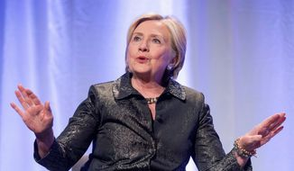 It was uncertain whether Democratic presidential nominee Hillary Clinton knew about hiring the Fusion GPS for opposition research. (Associated Press/File)