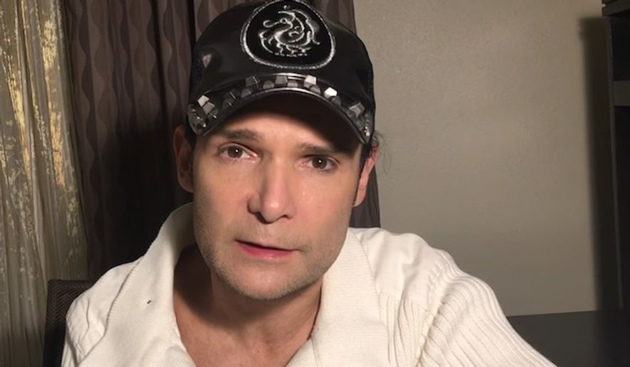 Actor Corey Feldman is raising money for a documentary on Hollywood pedophiles. (YouTube, Corey Feldman)