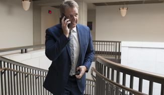Sen. Jeff Flake, R-Ariz., a member of the Foreign Relations Committee, walks to a closed-door security briefing at the Capitol in Washington, Wednesday, Oct. 25, 2017. (AP Photo/J. Scott Applewhite)