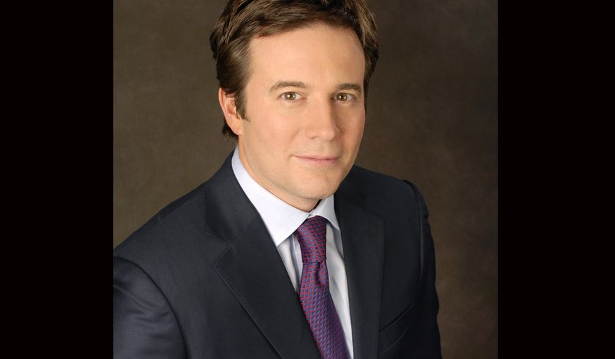 "This 2013 image released by CBS shows CBS News' Jeff Glor who was named anchor of ""CBS Evening News."" (Heather Wines/CBS via AP)"