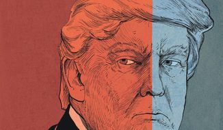 Illustration of Donald Trump by Paul Tong/Tribune Content Agency