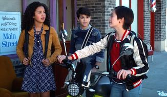 "Disney Channel's  ""Andi Mack"" will feature a coming-out tale for one of its tween characters. The editorial decision is a first for the company. (YouTube, Disney Channel screenshot) ** FILE **"