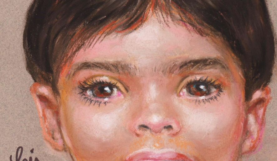 This undated artist rendering provided by the Galveston Police Department shows a depiction of a boy that police are asking for the public's help to identify. The young boy's body was found on a beach in Southeast Texas. Galveston police say the boy, aged 3 to 5 years, was found Friday, Oct. 20, 2017. Police are sifting through hundreds of tips and leads to discover the name of the little boy whose body was found on a deserted beach in Southeast Texas last week. (The Galveston Police Department via AP)